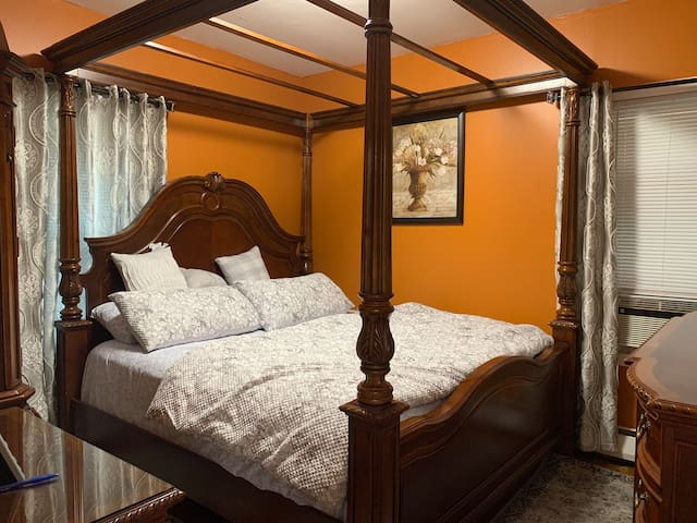 Spacious and Comfortable King Bedroom