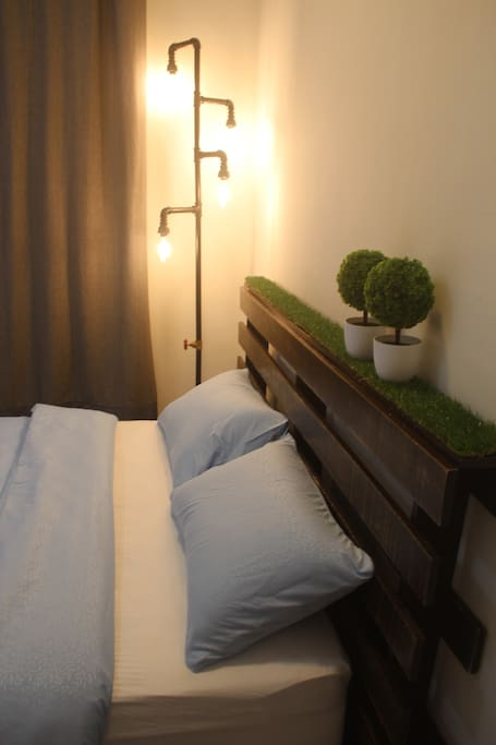 Solid wood bed frame indulge yourself into mother nature