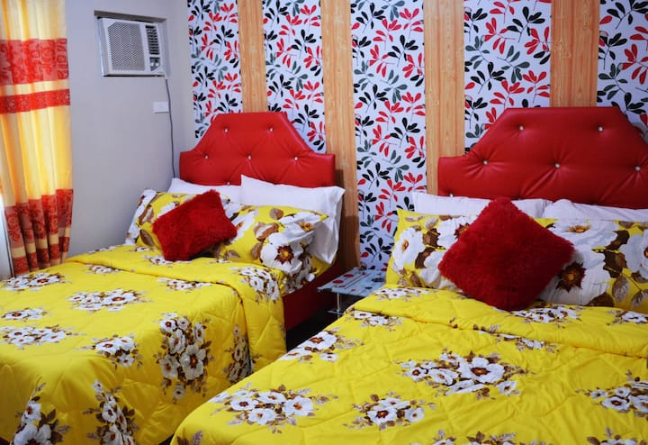 1BR w/ Wifi, Netflix  for 5 guests in Taytay Rizal
