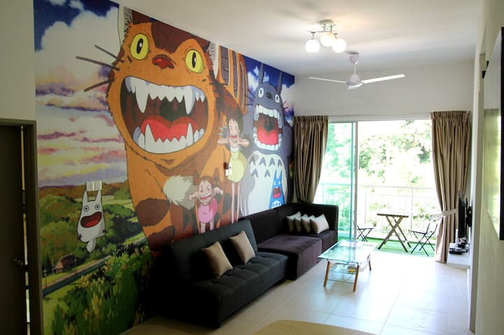 BRICKS Homestay - Totoro 3.0 @Cameron Highlands