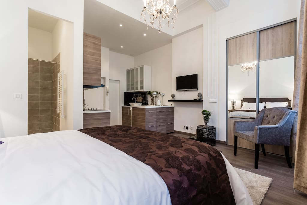 Un ravissant petit loft avec tout le confort d'un grand!