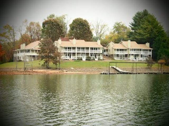 Lakefront Townhome: Lake Chatuge-N. GA. Mountains - Hiawassee - Řadový dům