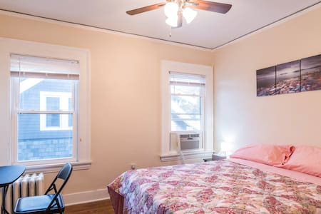 Compact Room with a Queen Bed on Clifton Blvd.
