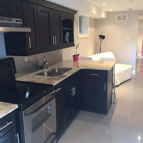 Central modern apt w/ laundry facilities in suite - Toronto - Appartement