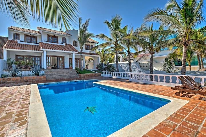 NEW! 4BR Punta Mita Area Home w/Pool & Ocean View - Punta Negra - Talo