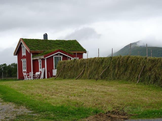 The Red house,Loviktunet, Andøy, Vesterålen