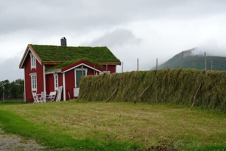 The Red house,Loviktunet, Andøy, Vesterålen