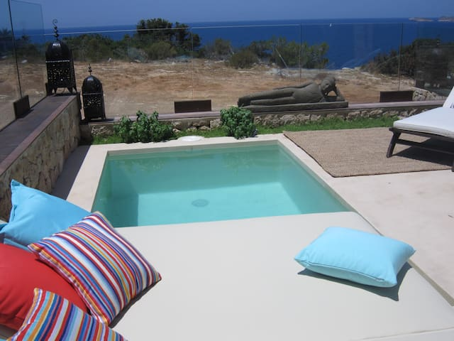 House with private pool in front of sea - Sant Josep de sa Talaia - Talo