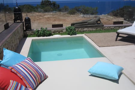 House with private pool in front of sea - Sant Josep de sa Talaia - Ev