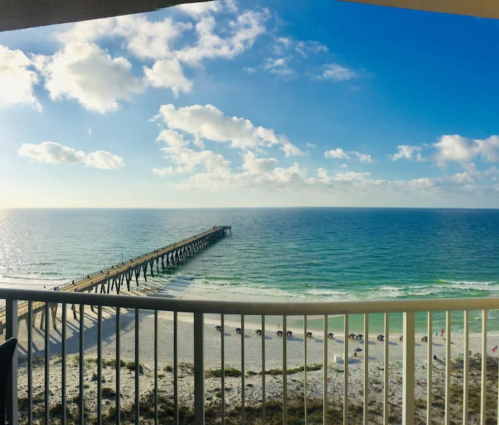 #1003 Oceanfront,Pier,HeatedPool,Eat,Drink,HotTub.