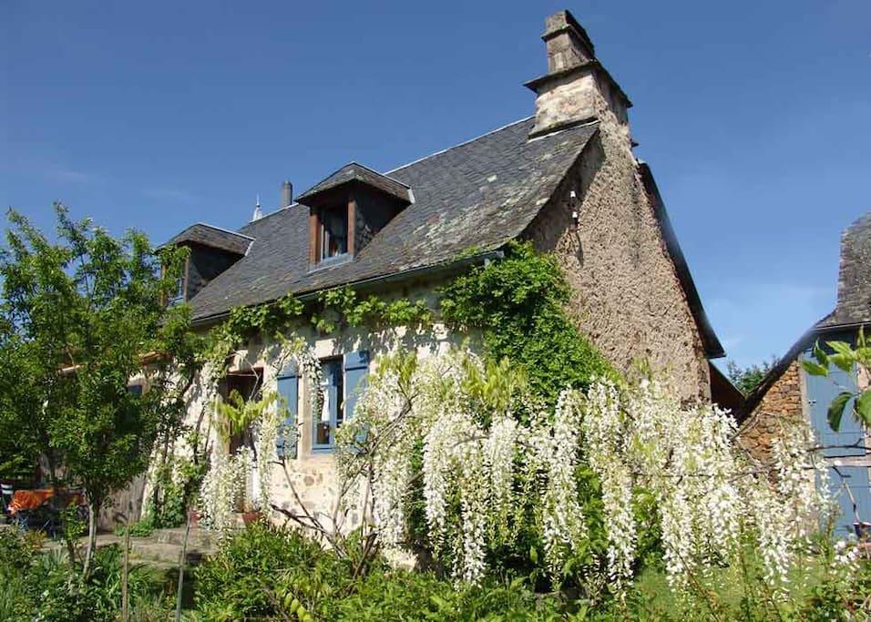 Maison traditionnelle Corrèzienne