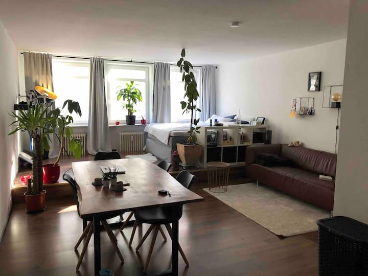 Lofty One-Room-Apartment at the heart of Munich.