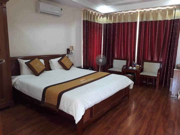 Double room with city view & stunning valley view