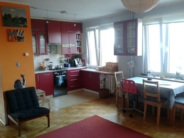 A nice, cheerful flat in Cracow