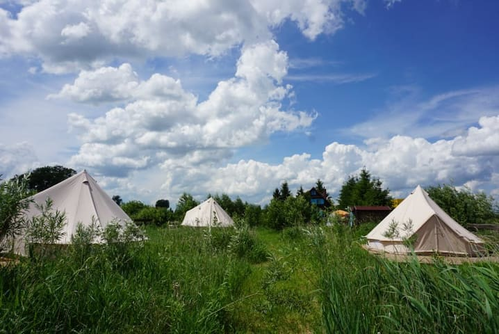 Mellina Glamping - safari tents in Masuria