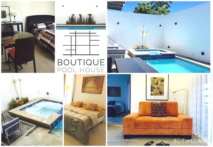 Boutique Pool House w/  Warm Tub