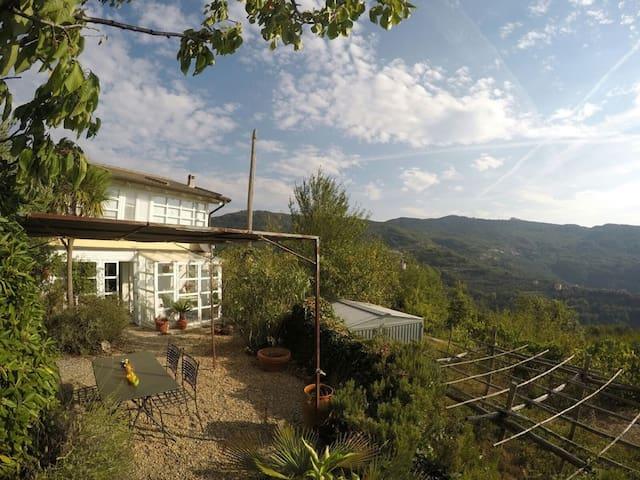 Ferienhaus in Italien Ligurien - Ranzo - Hus
