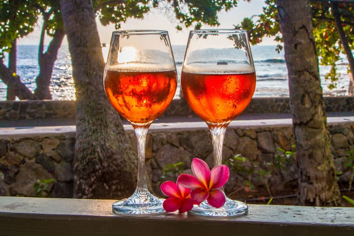 Enjoy a spectacular sunset from your lanai...