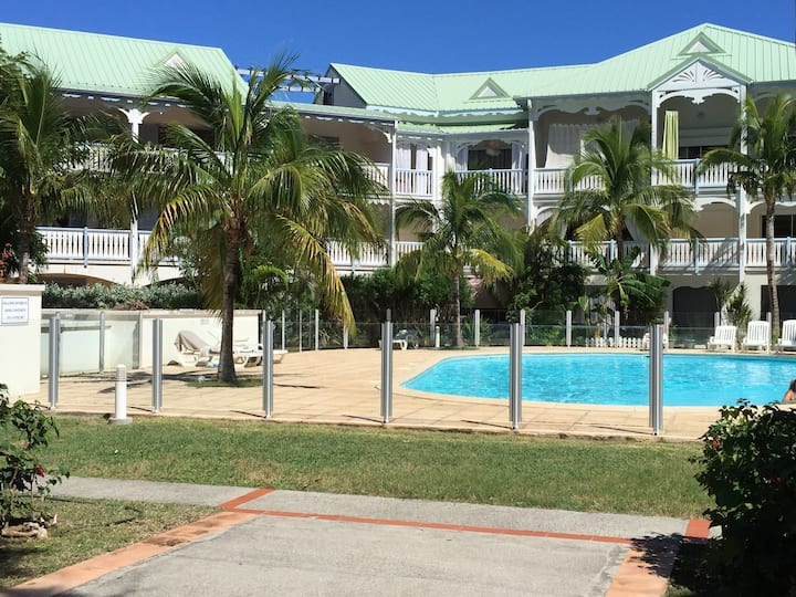 Charming 2 rooms condo in Anse Marcel - St Martin