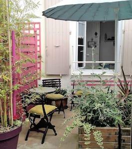 Beau studio 16 m² avec jardinet - La Rochelle