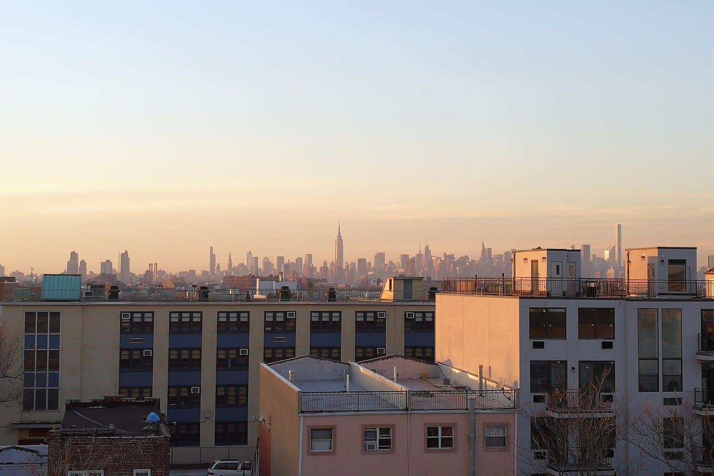 AMAZING view from our rooftop deck.