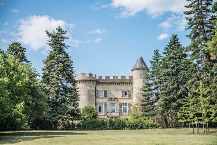 Meublé de luxe en Drôme provençale
