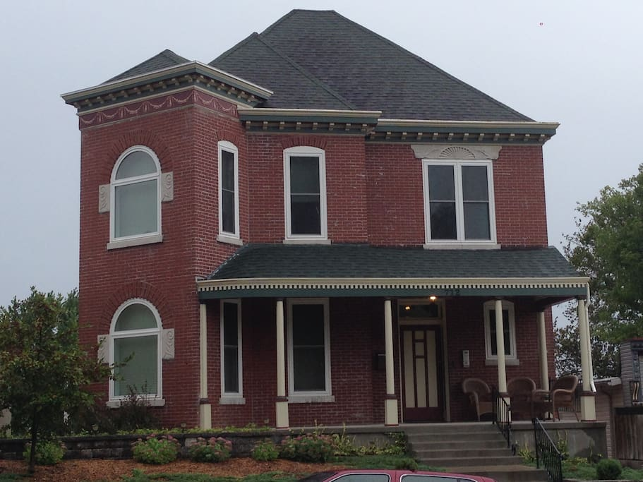 Victorian Home with large porch for sitting