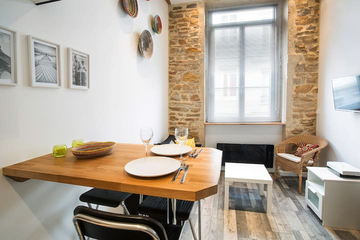 New ! Top Cosy Charming Flat Heart of Croix-Rousse