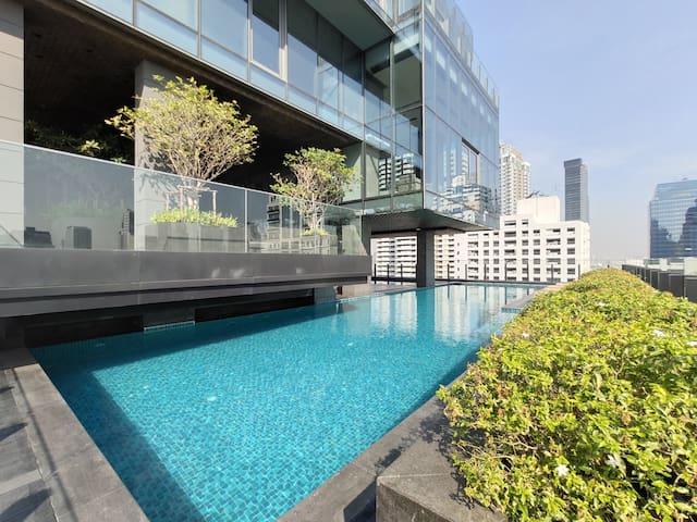 Bangkok&Pool&BTS Nana&MRT Sukhumvit&Max4ppl#18F139
