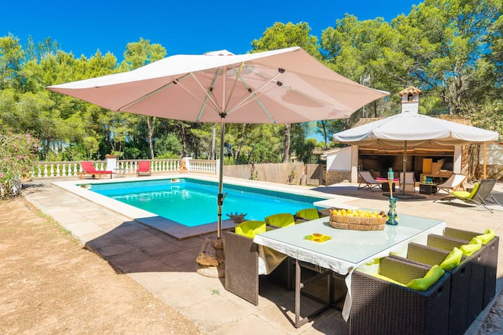 CanMarques - house with pool, 8 km from S'Arenal - Palma - Huis