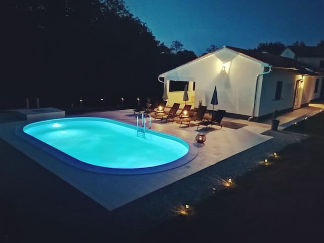 Villa Ari with private pool in Istria