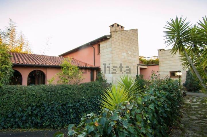 Precioso chalet individual con jardín - San Mamés de Meruelo - Casa de férias