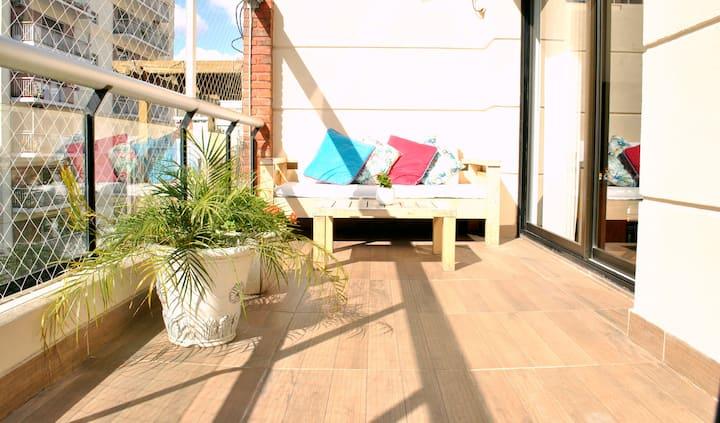 Impeccable & unique! Terrace/Grill/Pool/GYM
