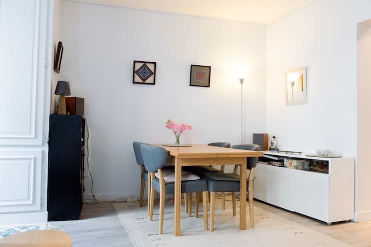 Cosy, practical & tasteful apartmt.