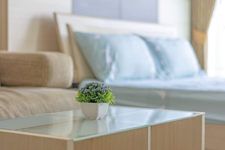 One bedroom condo near skytrain
