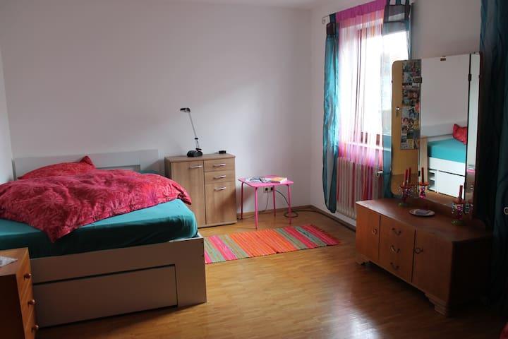 Ruhiges Zimmer in einer angenehmen Atmosphäre - Karlsruhe - Maison