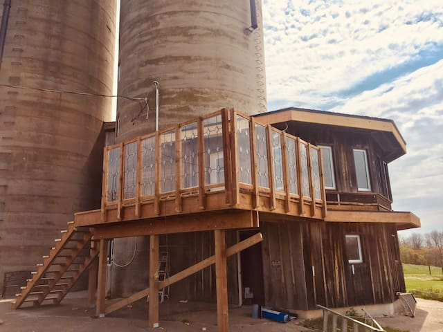 The Silo at The Old River Farm