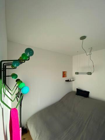 Garderobe im Schlafzimmer