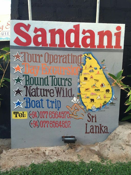 sandani villa service