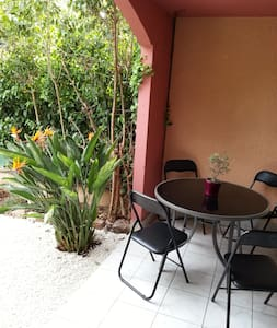 Beautiful apartment terace & garden