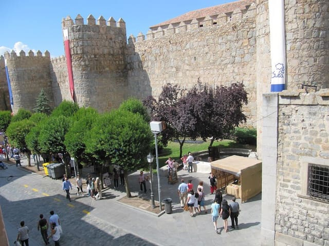 Muy céntrico, frente a la catedral y la muralla - Ávila - Apartamento