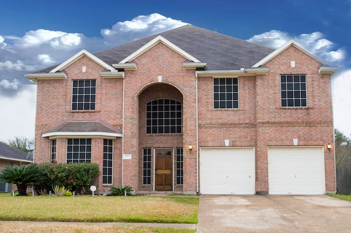 Lovely Home 5 Miles from Royal Purple Raceway - Baytown - 獨棟