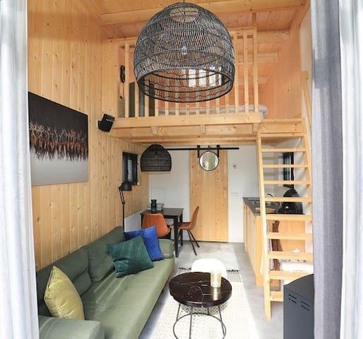 Tiny House, natuur & rust