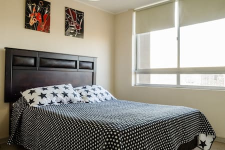 Comfortable private room with bathroom included - Santiago - Bed & Breakfast