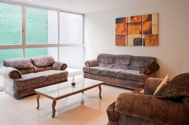 Family-Friendly, 3 rooms apartment - Cidade do México - Apartamento