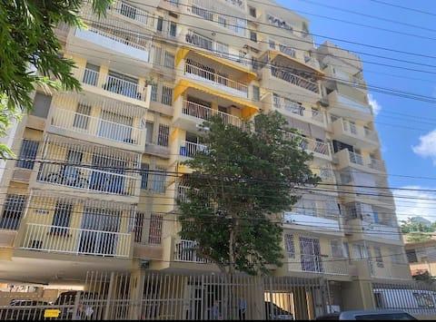 Spacious apartment with panoramic views
