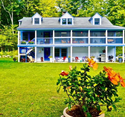 Private gem in the Berkshires on the Buck River