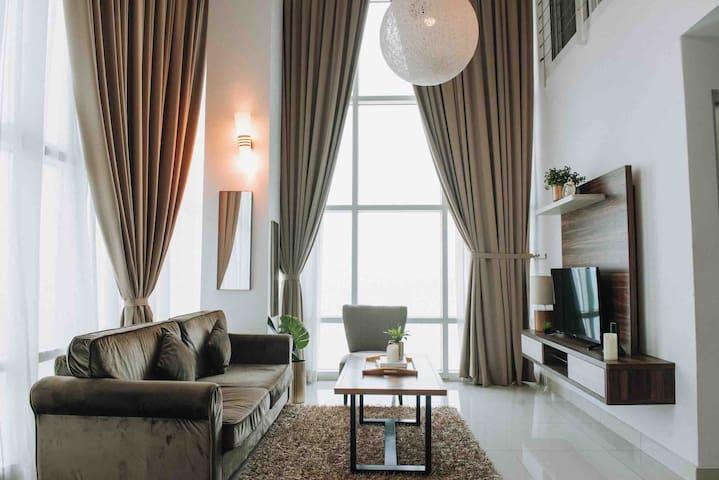Full Seaview Duplex Maritime Condominium Penang