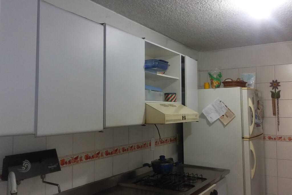 El alojamiento tiene servicio de lavadora si lo desea.
