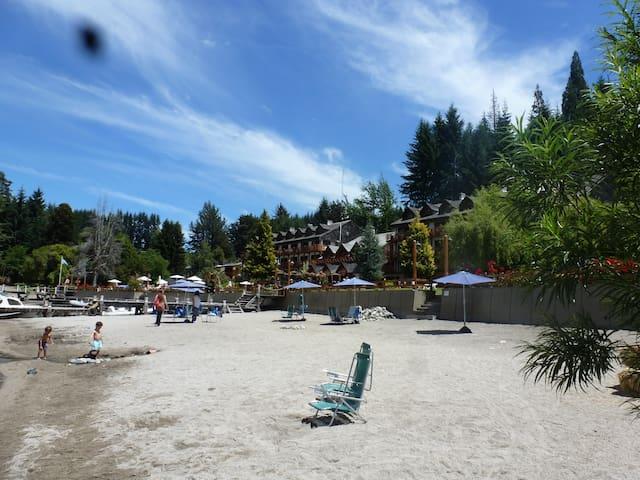 Ideal: disfruta y descansa toda la familia - Villa La Angostura - Byt